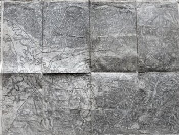 Baia Mare Harta Frauenbach Rumanien Landkarte 1887