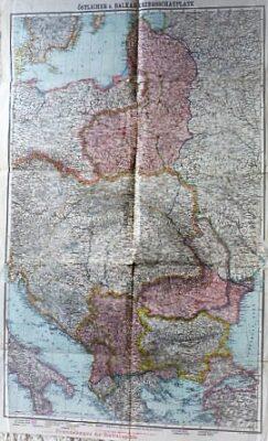 Östlicher u. Balkan Kriegsschaauplatz