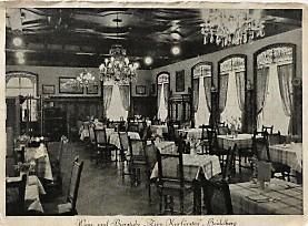 Wein und Bierstube Zum Kurfürsten Heidelberg Postkarte 1939