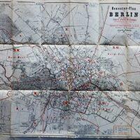 Neuester-Plan von Berlin 1873 old map