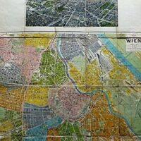 Plan von Wien Hartlebens Wien in der Vogelperspektive