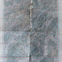 Trencin Zilina Slovakei Landkarte 1914 Slovakia old map
