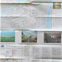 Leningrad traffic map 1988