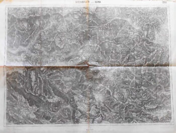 Bischoflack und Idria Skofja Loka Slowenien Landkarte Slovenia old map 1914