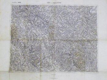 Lisko Lesko Mezőlaborcz Medzilaborcze Polen  Slovakei Landkarte Poland Slovakia old map 1911