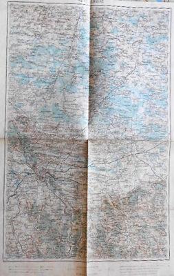 Lviv Lemberg Ukaraine Landkarte Ukraine old map 1915